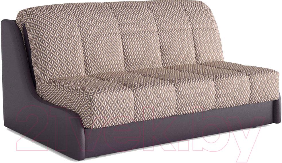 Купить Диван Askona, Персей 160 с БК без подушек (palladio romb violet), Россия