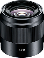 Стандартный объектив Sony E 50mm F1.8 OSS / SEL50F18 -