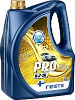 Моторное масло Neste Pro 0W20 / 118345 (4л) -