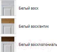 Комод ММЦ Хельсинки Бейби (белый воск)