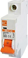 Выключатель автоматический КС ВА 47-39 1Р 1А D / 80301 -