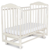 Детская кроватка СКВ Березка / 124001 (белый) -