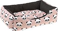 Лежанка для животных Ferplast Coccolo 50 / 82262999 (панды) -