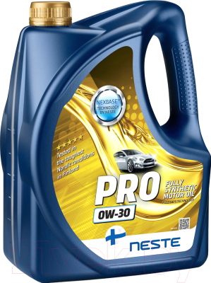 Моторное масло Neste Pro 0W30 / 116745 (4л)