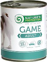 Корм для собак Nature's Protection Adult Game / KIK45094 (800г) -