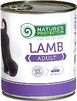 Корм для собак Nature's Protection Adult Lamb / KIK24632 (800г) -
