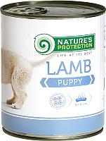 Корм для собак Nature's Protection Puppy Lamb / KIK24631 (800г) -