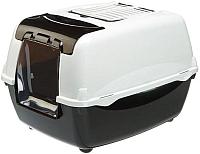 Туалет-домик Ferplast Bella Cabrio / 72060899 (черный) -