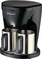 Капельная кофеварка Sakura SA-6108BK -