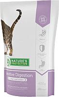 Корм для кошек Nature's Protection Sensitive Digestion / NPS24350 -
