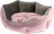Лежанка для животных Ferplast Queen 50 / 83405001 (розовый/серый) -