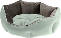 Лежанка для животных Ferplast Queen 60 / 83406002 (зеленый/серый) -