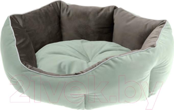 Купить Лежанка для животных Ferplast, Queen 60 / 83406002 (зеленый/серый), Украина