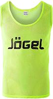 Манишка футбольная Jogel JBIB-1001 (р-р 52-54, лимонный) -