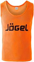 Манишка футбольная Jogel JBIB-1001 (р-р 44-46, оранжевый) -