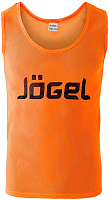 Манишка футбольная Jogel JBIB-1001 (р-р 52-54, оранжевый) -