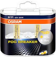 Комплект автомобильных ламп Osram H11 64211FBR-DUOBOX -