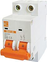 Выключатель автоматический КС ВА 47-39 2Р 63А С / 80416 -
