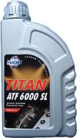 Трансмиссионное масло Fuchs Titan ATF 6000 SL Dexron VI / 601427008 (1л, красный) -