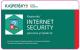 ПО антивирусное Kaspersky Internet Security Multi-device 1 год Card / KL19412UBFR (продление на 2 устройства) -