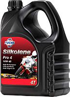 Моторное масло Fuchs Мото Silkolene PRO4 10W-40XP / 600985134 (4л) -