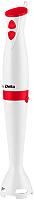 Блендер погружной Delta DL-7043 (белый/красный) -