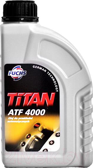 Трансмиссионное масло Fuchs, Titan ATF 4000 Dexron IIIH / 600631963 (1л, красный), Германия  - купить со скидкой