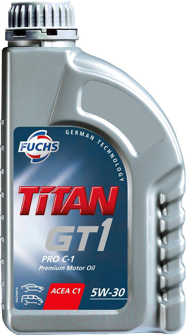 Купить Моторное масло Fuchs, Titan Gt1 Pro C1 5W30 / 600512484 (1л), Германия