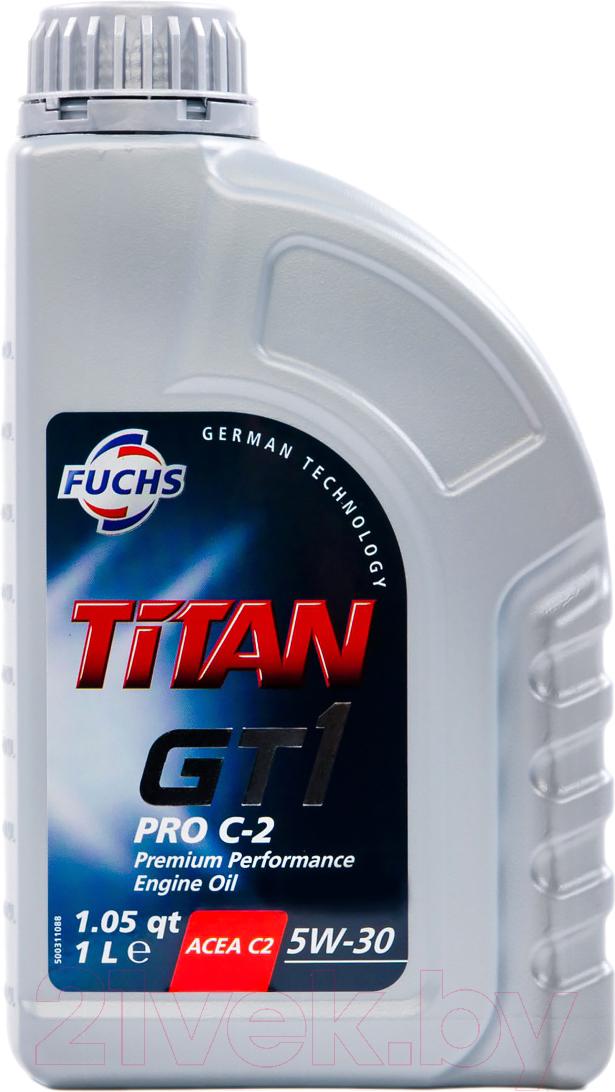 Купить Моторное масло Fuchs, Titan Gt1 Pro C2 5W30 / 600514105 (1л), Германия