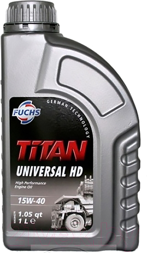 Купить Моторное масло Fuchs, Titan Universal HD15W40 / 600642273 (1л), Германия