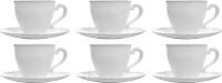 Набор для чая/кофе Luminarc Cadix 38649 (12шт) -