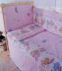 Простыня детская Баю-Бай Забава ПР14-З1 (розовый) -