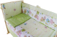 Простыня детская Баю-Бай Забава ПР14-З3 (зеленый) -