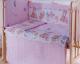 Простыня детская Баю-Бай Забава ПР15-З1 (розовый) -