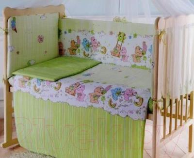 Простыня детская Баю-Бай Забава ПР15-З3 (зеленый)