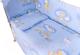 Простыня детская Баю-Бай Нежность / ПР15-Н4 (голубой) -