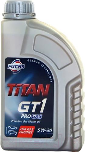 Купить Моторное масло Fuchs, Titan GT1 PRO Gas 5W30 / 600714710 (1л), Германия
