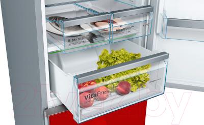 Холодильник с морозильником Bosch KGN39LR31R