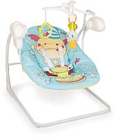 Качели для новорожденных Happy Baby Jolly V2 (blue) -