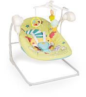 Качели для новорожденных Happy Baby Jolly V2 (green) -