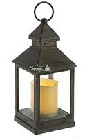 Электронная свеча Подари Фонарь 05 LRN05S (серый) -
