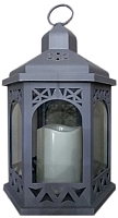 Электронная свеча Подари Фонарь 04 LRN04S (серый) -