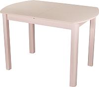 Обеденный стол Домотека Танго ПО 70x110-147 (кремовый/молочный дуб/04) -