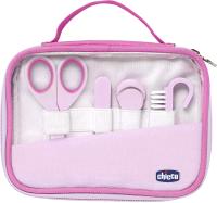 Маникюрный набор детский Chicco Happy Hands для девочек (розовый) -