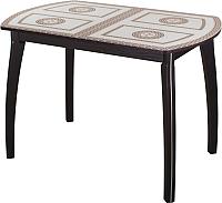Обеденный стол Домотека Танго ПО 70x110-147 (ст-71/венге/07) -