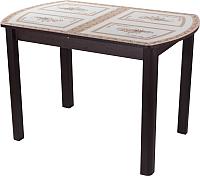 Обеденный стол Домотека Танго ПО 70x110-147 (ст-72/венге/04) -