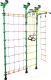Детский спортивный комплекс Midzumi Hotaru (зеленый/желтый) -