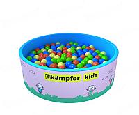 Игровой сухой бассейн Kampfer Kids (розовый, 200 шаров) -