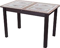 Обеденный стол Домотека Танго ПР 70x110-147 (ст-72/венге/04) -