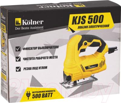 Электролобзик Kolner KJS 500